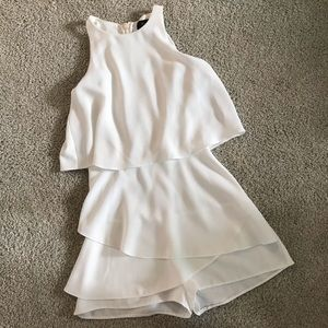 New look white romper/dress/playsuit